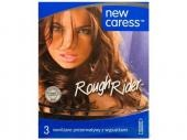 Prezerwatywy NEW CARESS ROUGH RIDER 3 sztuki
