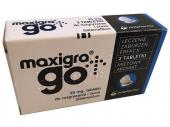 Maxigra Go 25mg 2 tabletki do żucia