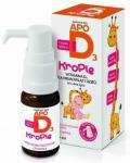 Apo D3 Krople 400j.m. 10ml
