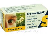 Cromohexal krople do oczu 20mg/ml 10 ml