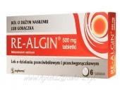 Re-Algin 0,5 g 6 tabletek