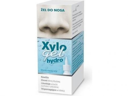 XyloGel Hydro Żel do nosa w sprayu 10 g