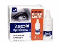 Starazolin HydroBalance PPH krople do oczu 3 x 5 ml